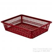 Basket tray No.2 Wine Red