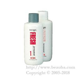 MEROS Fresh perm Natural 1st Agent 2nd Agent Each 400ml