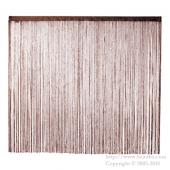 String Curtain Chocolate Brown 1400 X 1000mm