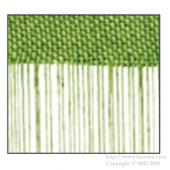 String Curtain Apple Green 1400 X 1000mm
