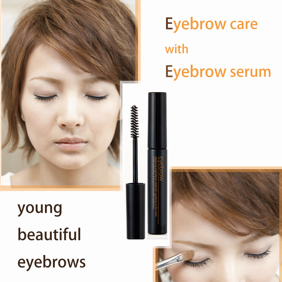 Hair growth serum for eyebrows