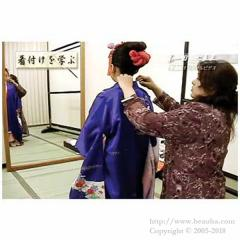 Kimono Fitting and Japanese Clothing Knowledge DVD The Seven-Five-Three Festival About 40 minutes