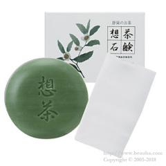 Sou Cha Green Tea Soap with Net 100g